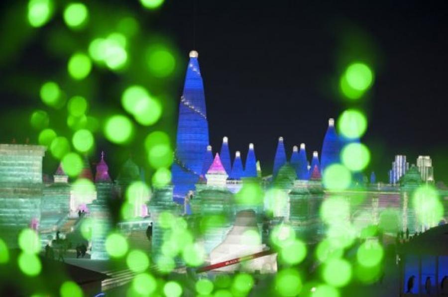 ФОТО: Харбины олон улсын цас мөсний фестиваль