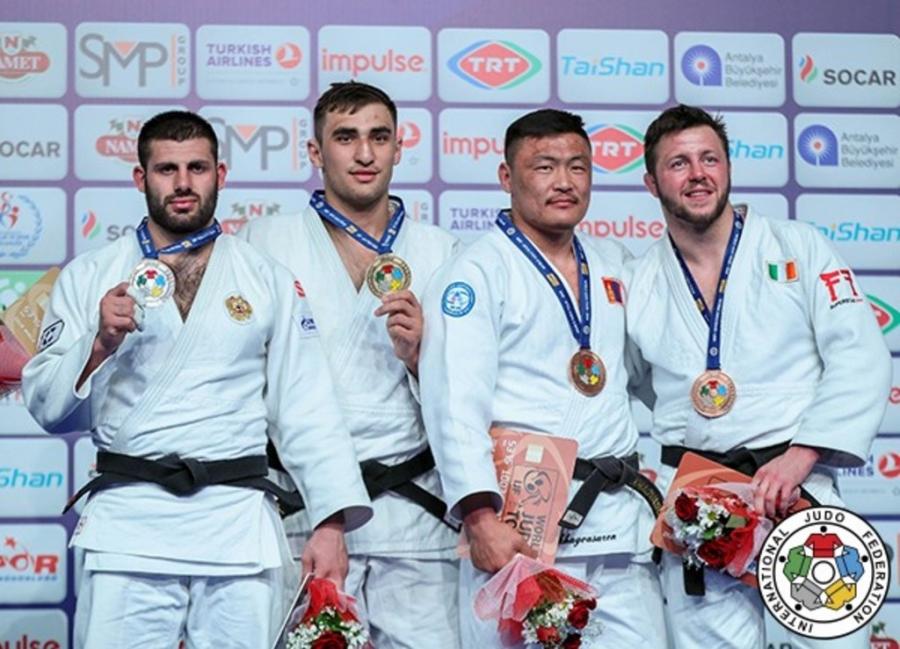 """Л.Отгонбаатар """"Анталья-Гранпри""""-гаас хүрэл медаль хүртлээ"""