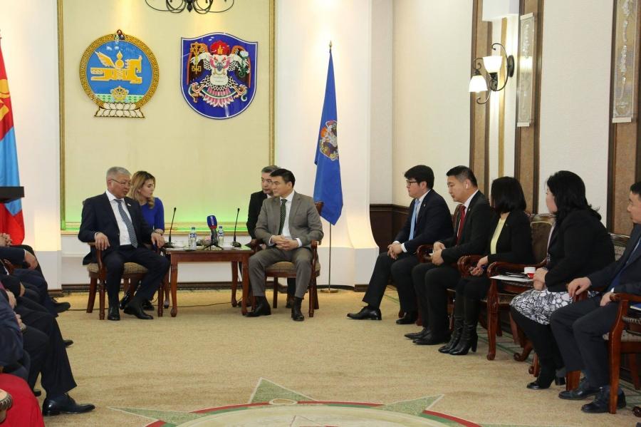С.Амарсайхан: Улан-Удэ хоттой олон салбарт хамтран ажиллах боломж бий
