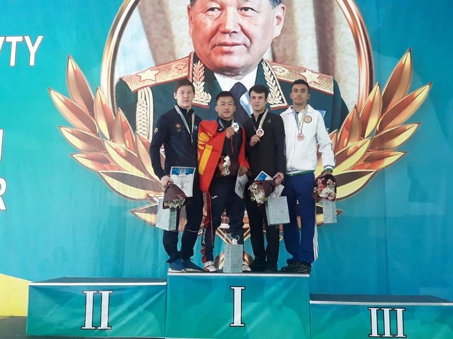 Э.Цэндбаатар олон улсын А зэрэглэлийн тэмцээнд аваргалав