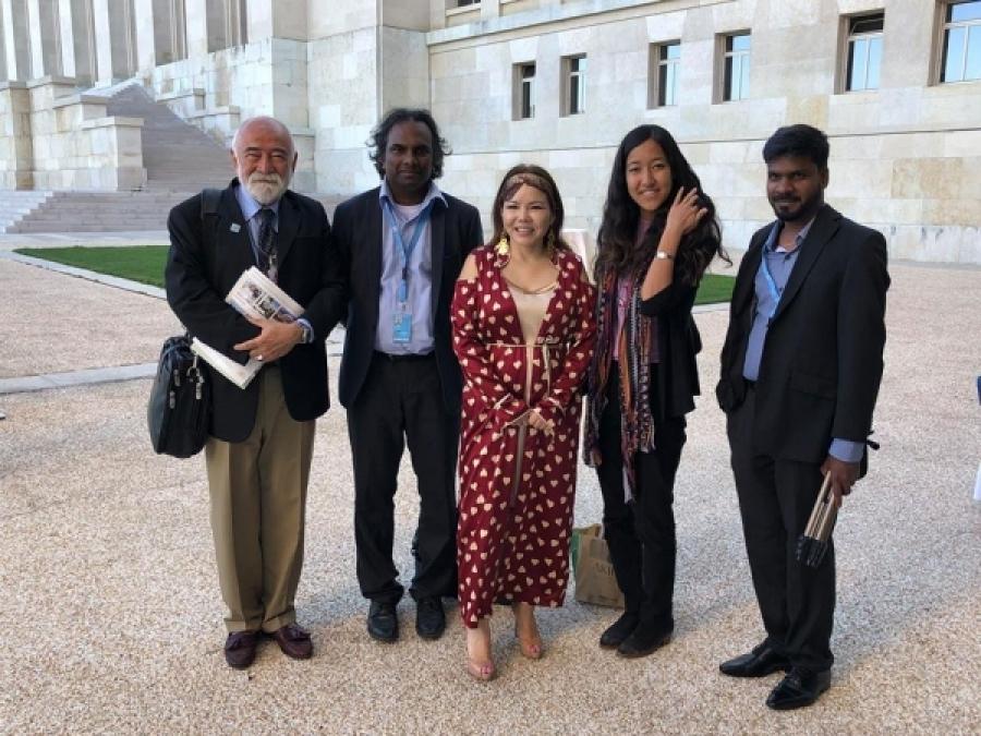 Дуучин Ж.Алтанцэцэг НҮБ-ын уулзалтад эх орноо төлөөлөн оролцжээ