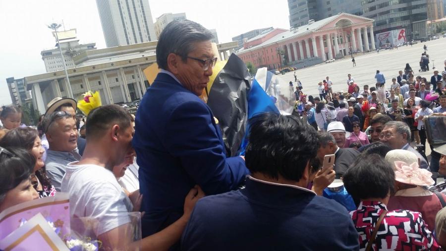 Г.Равдан: Ард түмэн надад Ардын жүжигчин цолыг авчирлаа