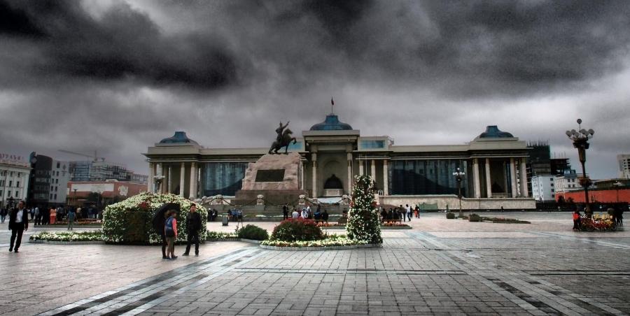Улаанбаатарт бороотой