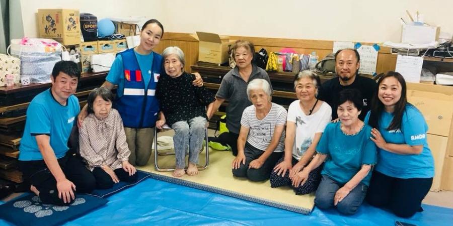 Монгол эмч Япон Улсад гамшигт өртсөн иргэдэд тусламж үзүүлж байна