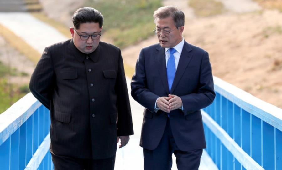 Хоёр Солонгосын тэргүүнүүд ирэх сард уулзана