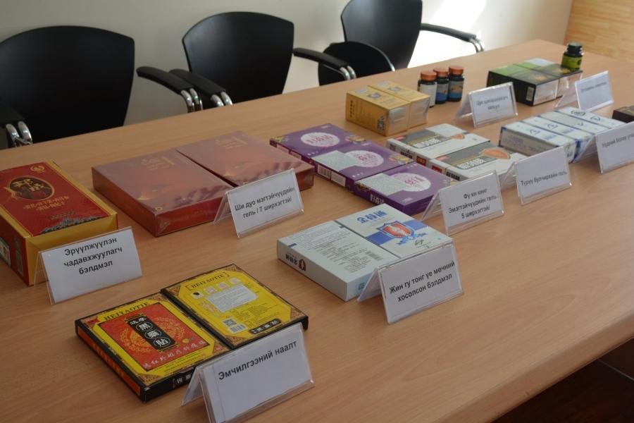 БНХАУ-ын иргэн зөвшөөрөлгүй эм худалдаалж байсныг илрүүлжээ