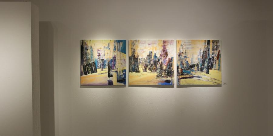 """ХААН Галерейд """"CODE 1"""" уран бүтээлийн үзэсгэлэн нээгдлээ"""