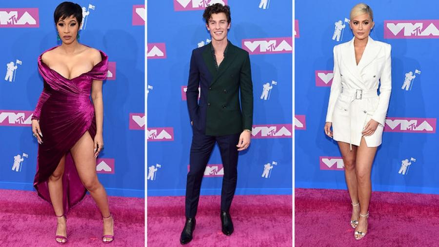 MTV Video Music Awards: Улаан хивсний зочид