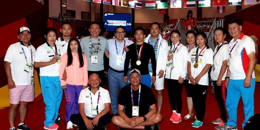 """Чөлөөтийнхөн Азийн """"олимп""""-оос зургаан медаль хүртлээ"""