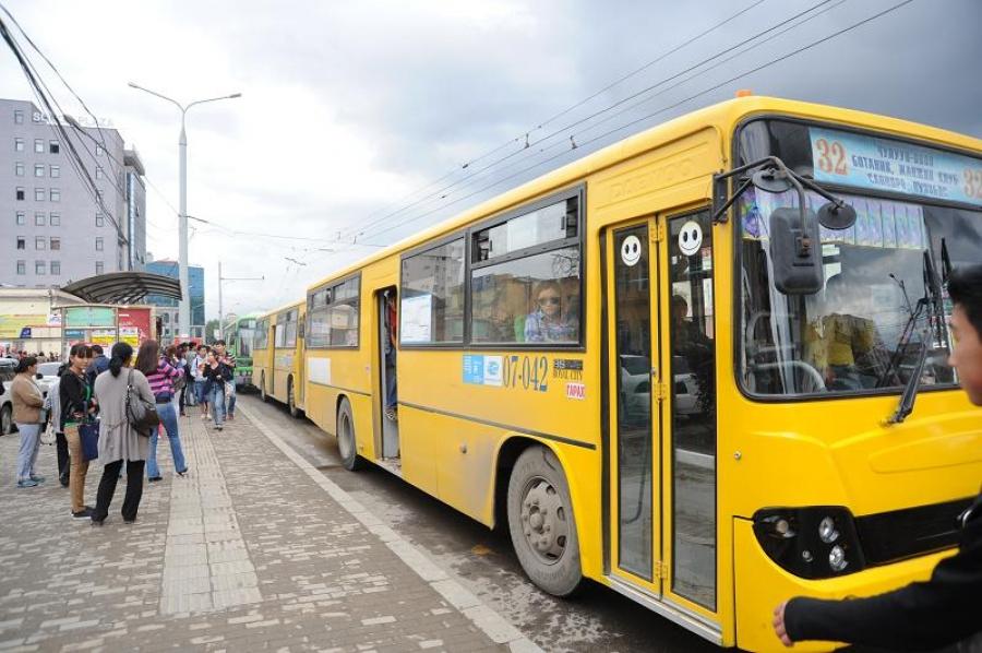 Нийтийн тээвэрт явж байгаа автобусны тоог нэмжээ
