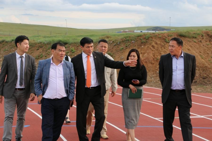 Олон улсын стандартад нийцсэн хөнгөн атлетикийн спортын төв Налайх дүүрэгт баригдана