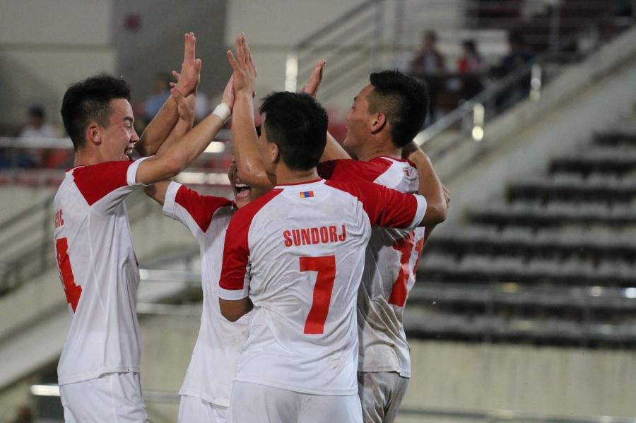 ФОТО: Монголын шигшээ баг нөхөрсөг тоглолтоос анхны ялалтаа авлаа