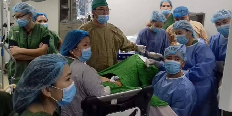 Монголд анх удаа умайн хоргүй хавдрыг мэсийн бус аргаар эмчиллээ