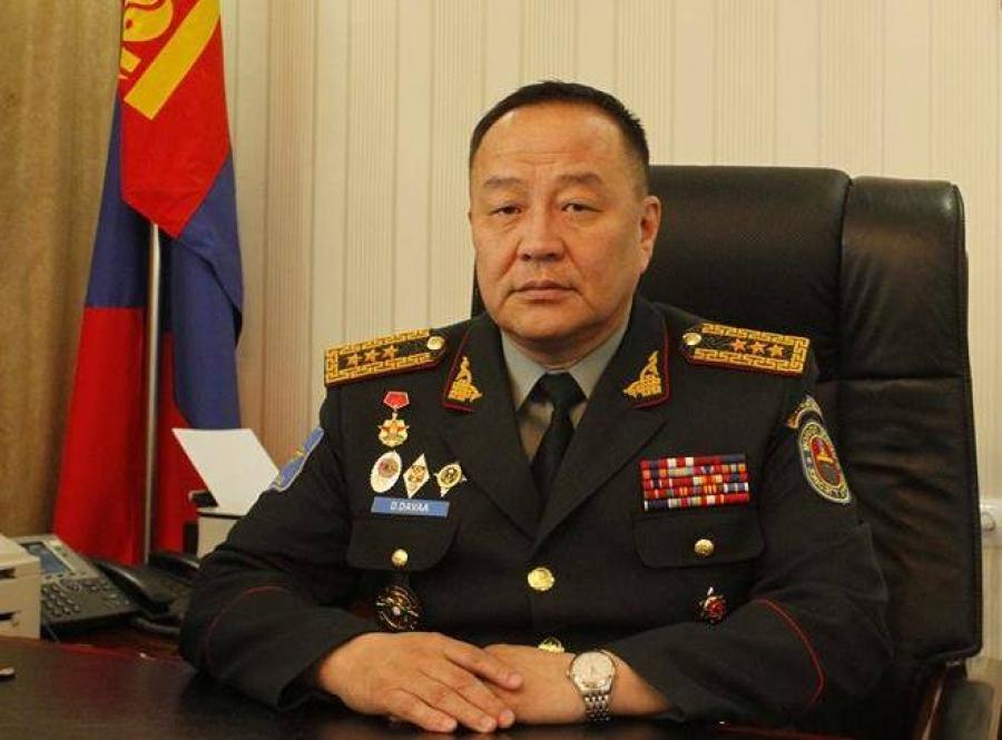 Дэслэгч генерал Д.Давааг үүрэгт ажлаас нь чөлөөллөө