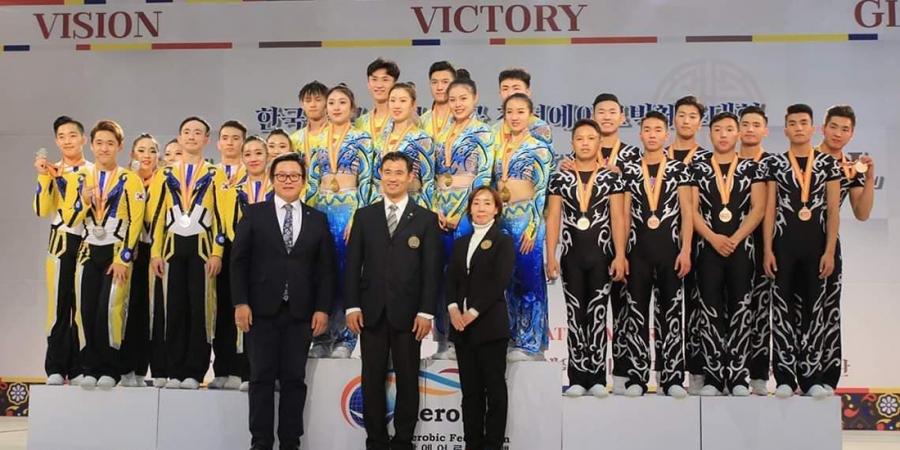 Манай тамирчид олон улсын Аэробик гимнастикийн тэмцээнд амжилттай оролцов