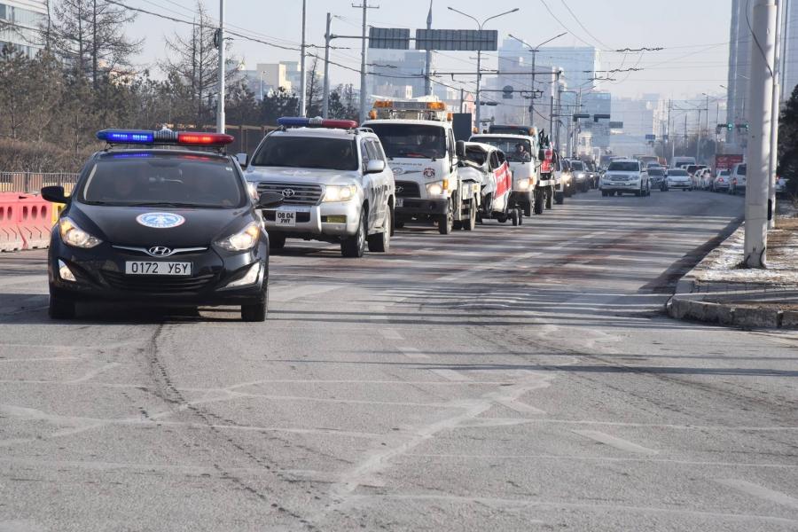 Зам тээврийн ослоор хохирсон иргэдэд хүндэтгэл үзүүлэв