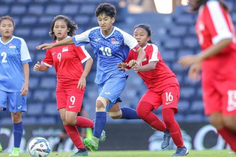 Охидын шигшээ баг Сингапурын багийг хожив