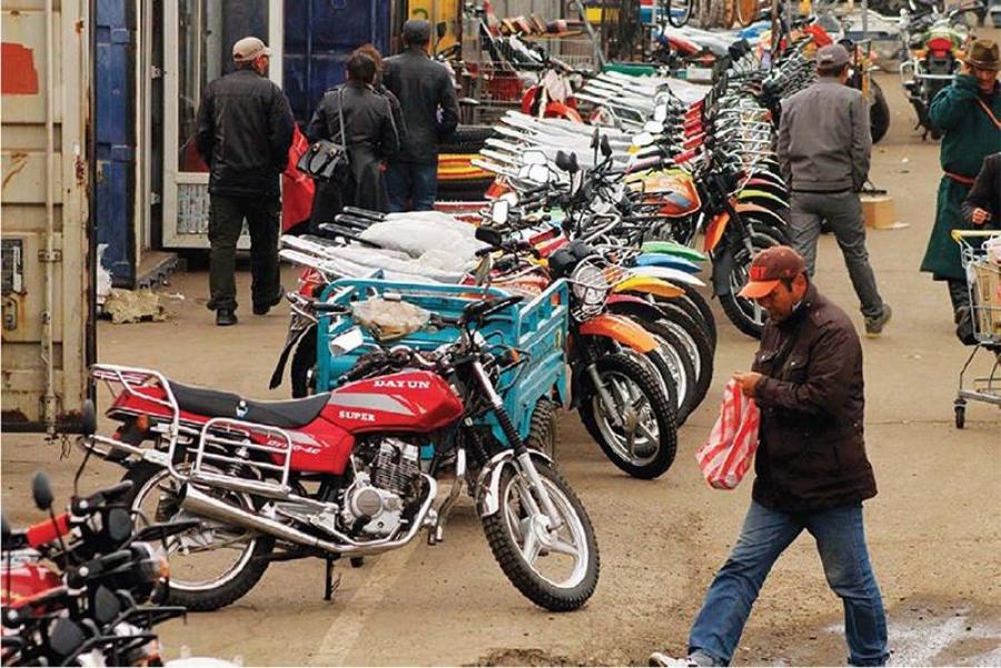 Мотоциклийн хөдөлгөөнийг түр хориглолоо