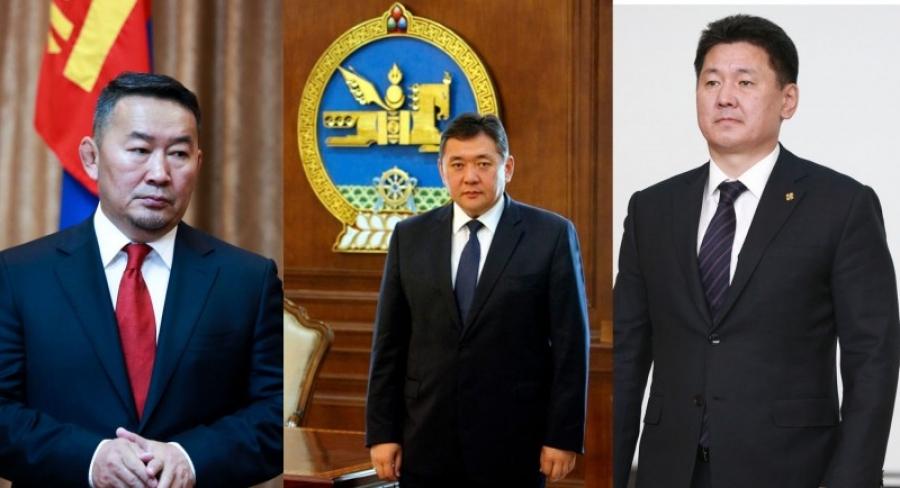 Төрийн гурван өндөрлөг уулзалт хийжээ