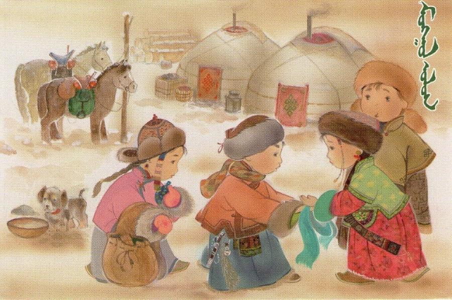 Цагаан сар бол түүхийн эх сурвалж, төрт ёсны хамгийн том баяр