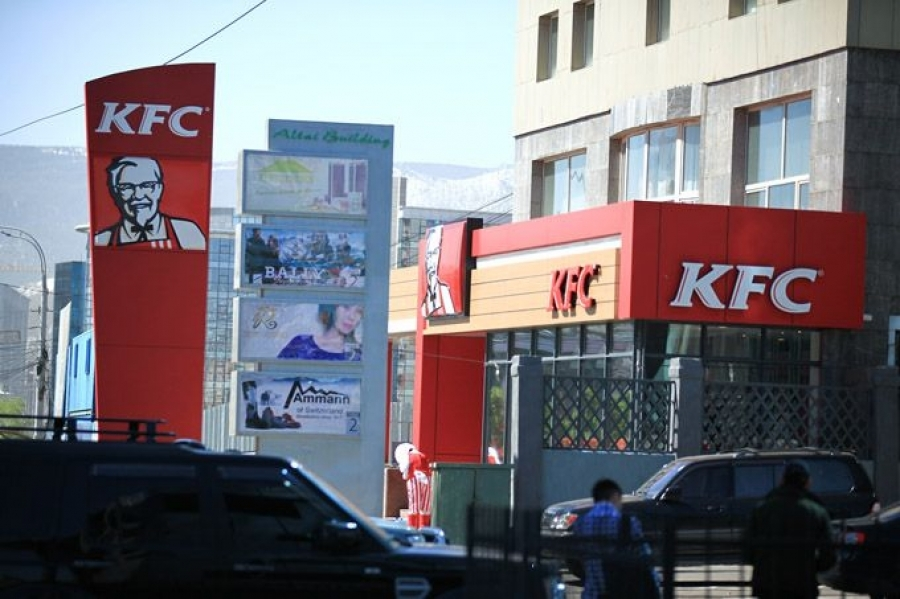 """""""KFC"""" түргэн хоолны газрын бүх салбарыг хаана"""