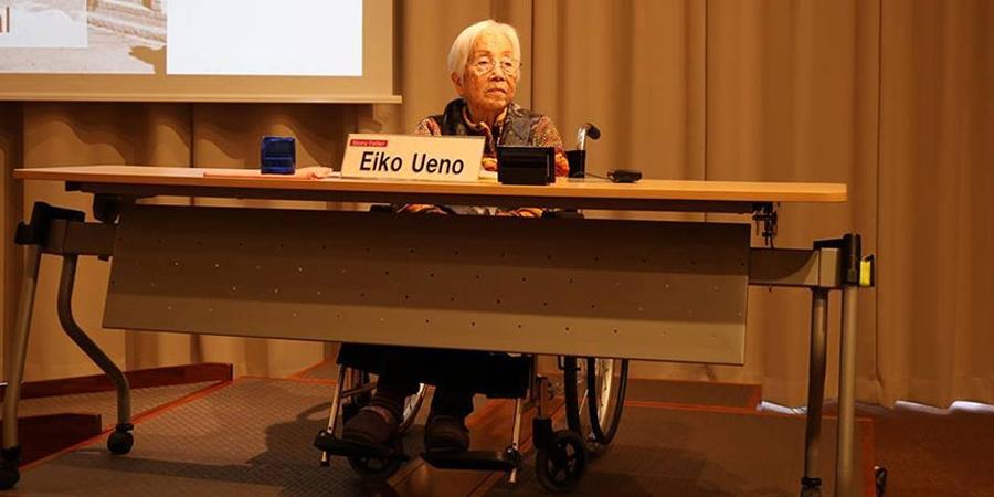 70 жилийн тэртээх эмгэнэлт түүхийн гэрч Эйко Үэно
