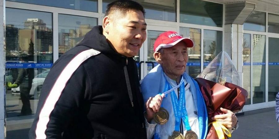 Кёкүшюзан Д.Батбаяр 85 настай ахмад тамирчинд 4 өрөө байр бэлэглэхээр болжээ
