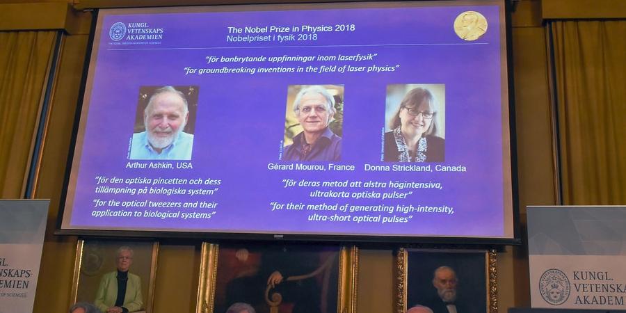 2018 оны Физикийн салбар дахь Нобелийн шагнал ба лазерын физикт гарсан дэвшил
