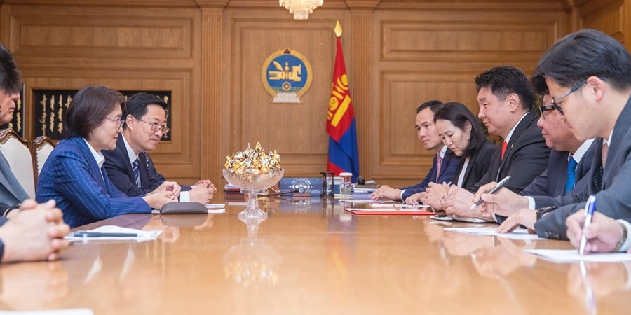 Монгол Улсын Ерөнхий сайд хатагтай Бу Шяолинийг хүлээн авч уулзав