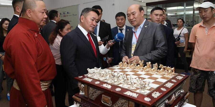 """Монгол Улсын Ерөнхийлөгчийн ивээл дор """"Монгол дархан"""" үзэсгэлэн зохион байгуулагдаж байна"""