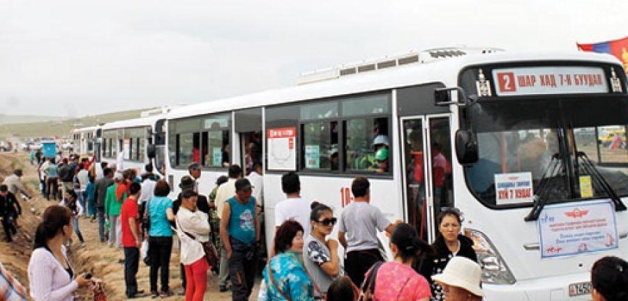 Наадмын өдрүүдэд 637 автобус, 603 такси үйчилгээнд явна