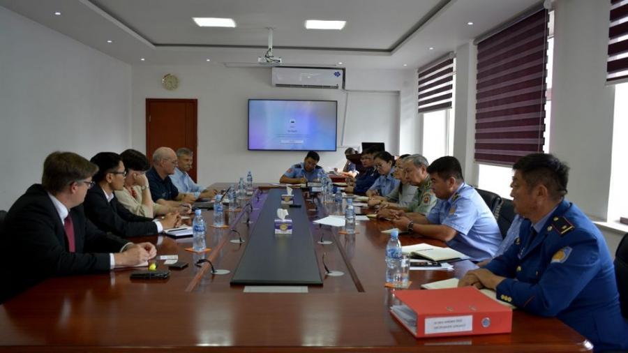 Шинжээчдийн баг Монгол Улсад ажиллаж байна