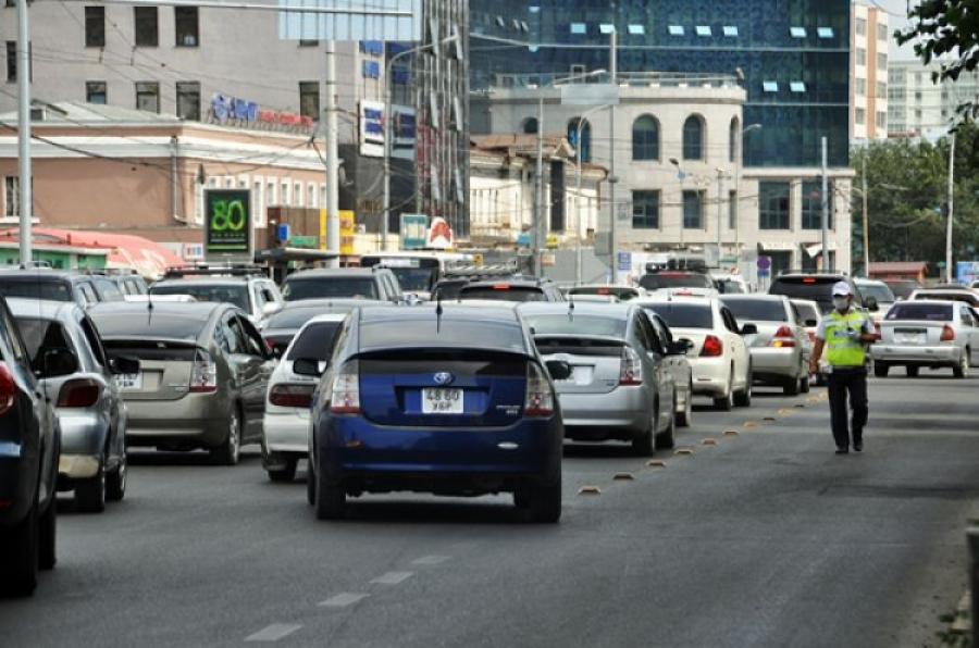 Өнөөдөр сондгой дугаараар төгссөн автомашин замын хөдөлгөөнд оролцоно
