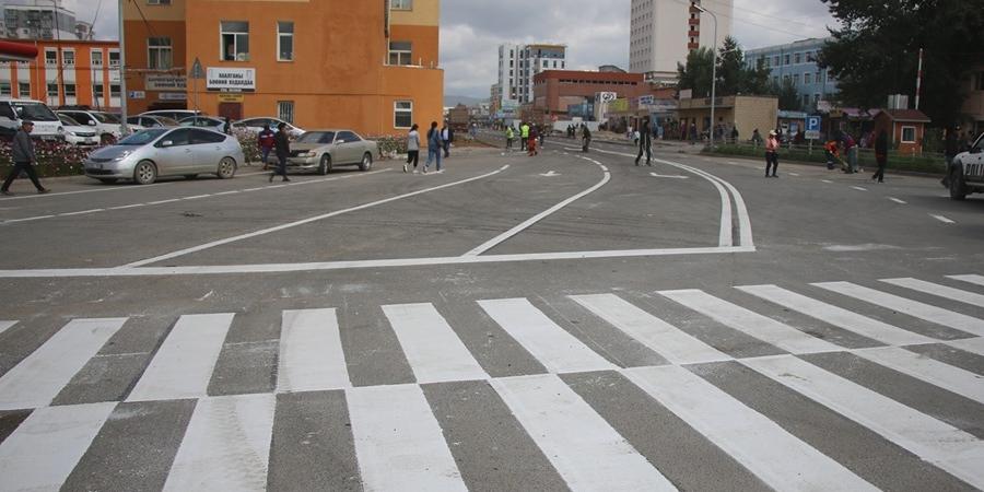 100 айлын авто замын зорчих хэсгийн хөдөлгөөнийг нээлээ