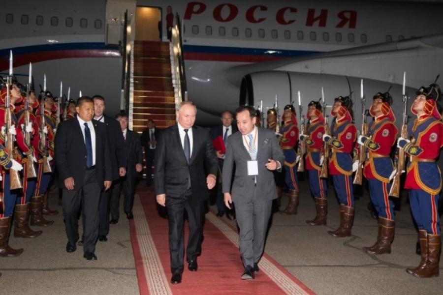 ОХУ-ын Ерөнхийлөгч В.В.Путины айлчлал эхэллээ