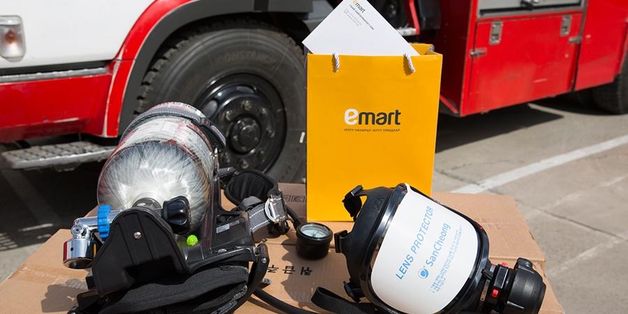 Имартынхан Нийслэлийн Онцгой Байдлын газарт хүчилтөрөгчийн төхөөрөмж, аврах дэвжээ бэлэглэлээ