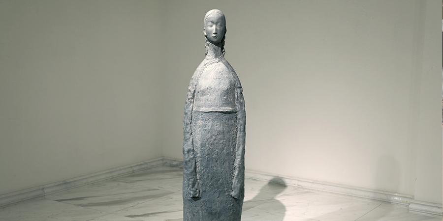 ХААН Галерейд Н.Сүхбүрэнгийн керамик баримлын үзэсгэлэн нээлтээ хийлээ