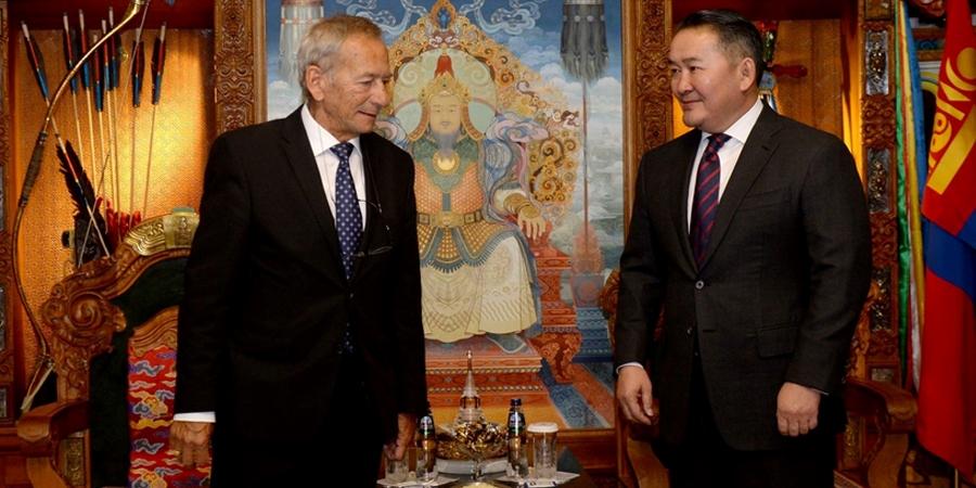 Ярослав Кубера Монгол Улсын Ерөнхийлөгч Х.Баттулгад бараалхлаа