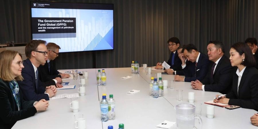 Ерөнхийлөгч Х.Баттулга Норвегийн Баялгийн сангийн үйл ажиллагаатай дэлгэрэнгүй танилцлаа
