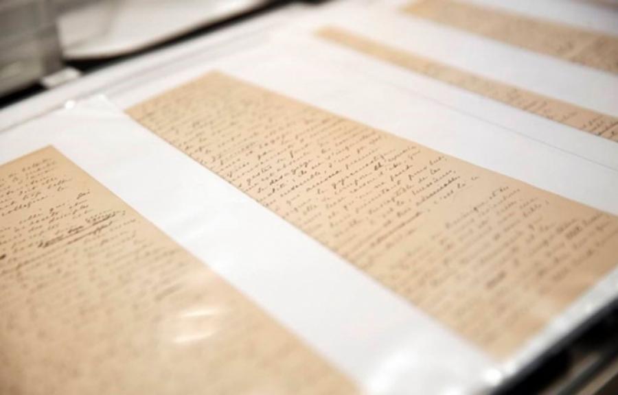 Пьер де Кубертены бичсэн Олимпийн тунхаг бичгийг ОУОХ-нд Алишер Усманов шилжүүлж өгөв