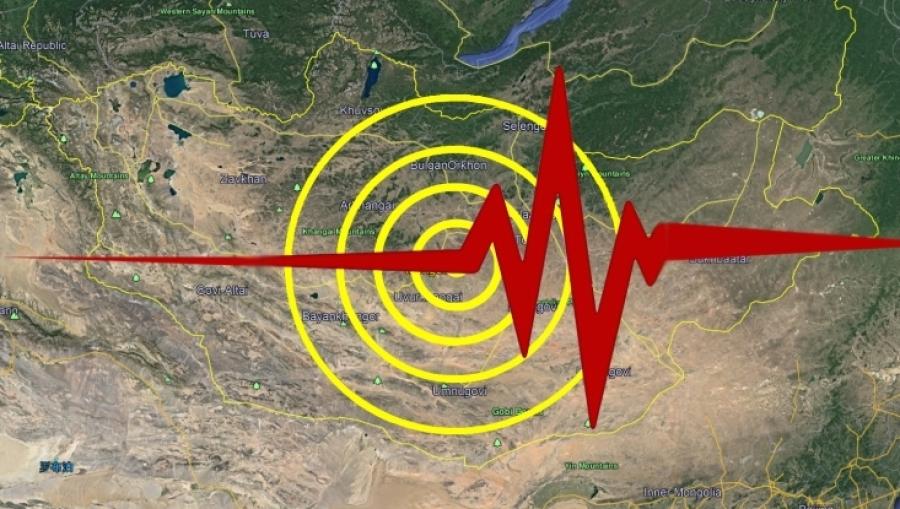 Дорнод аймагт 3,8 магнитудын хүчтэй газар хөдлөлт болжээ