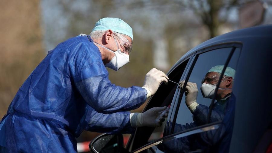 Герман улсад коронавирусийн халдвартай 113296 хүн бүртгэгдээд байна