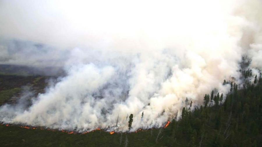 Баяндун, Баян-Уул сумын нутагт гарсан гал түймрийг унтраахаар ажиллаж байна