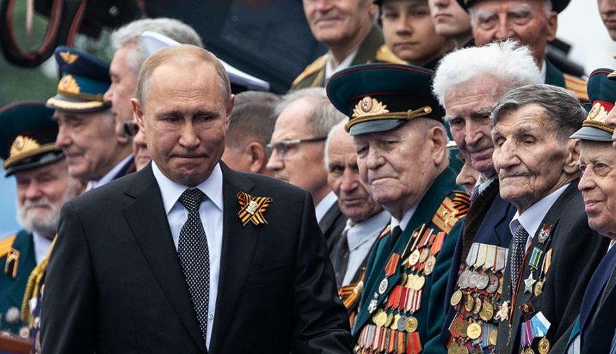 Владимир Путин ялалтын баяраар үг хэлнэ