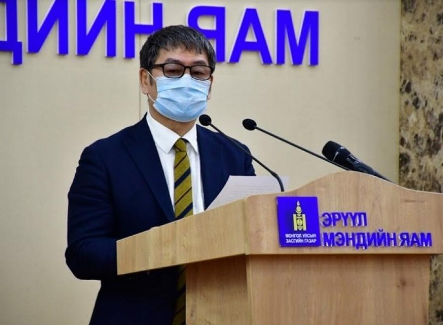 Д.Нямхүү: Халдварын шинэ тохиолдол илрээгүй