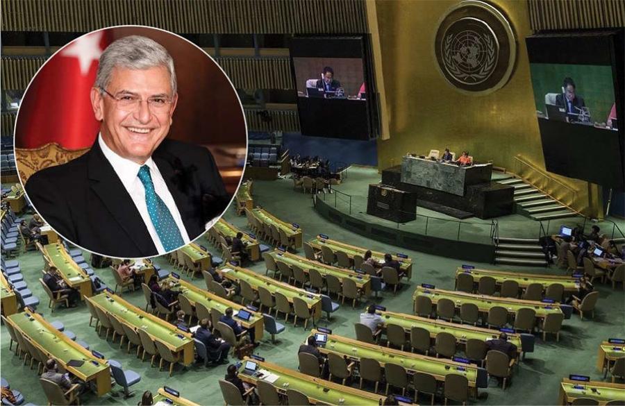 НҮБ-ын ээлжит чуулганы даргаар Туркийн Болкан Бозкир сонгогдлоо