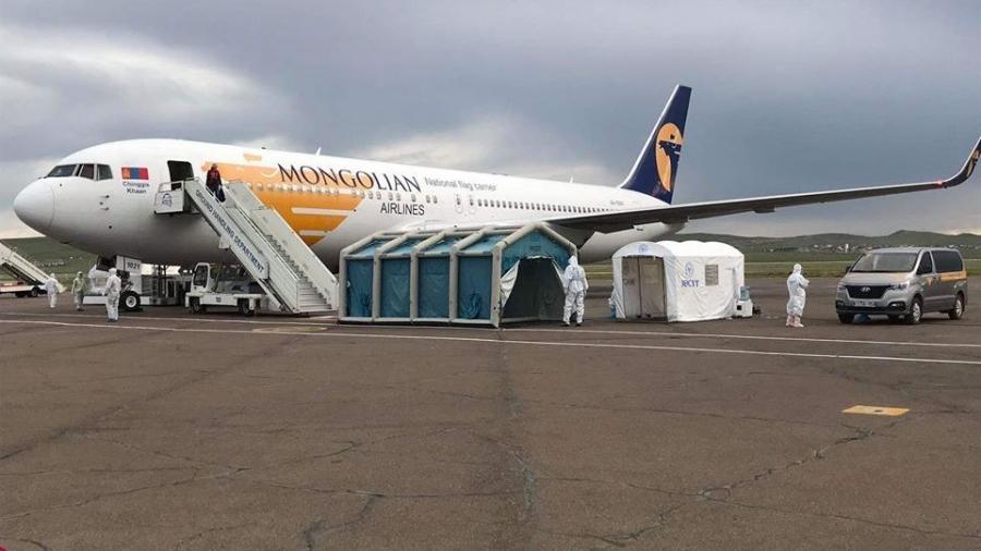 Сөүл-Улаанбаатар чиглэлийн тусгай үүргийн онгоцоор 258  иргэн ирлээ