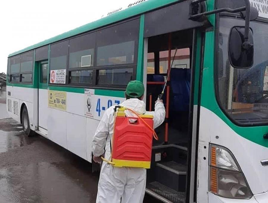 Амны хаалтгүй зорчигчийг автобусанд оруулахгүй байя