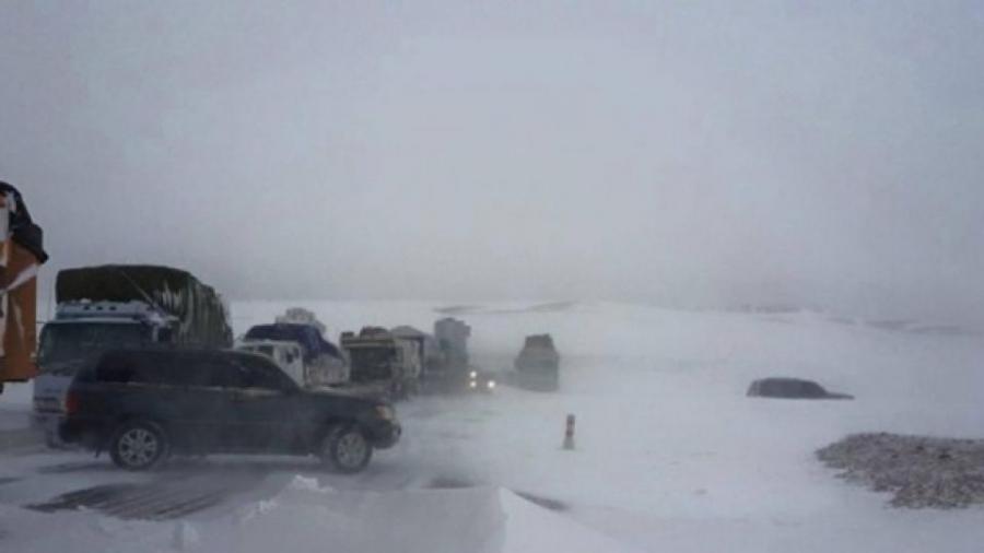 Өнөөдөр  зүүн аймгуудын нутгаар цас орж, цасан шуурга шуурна