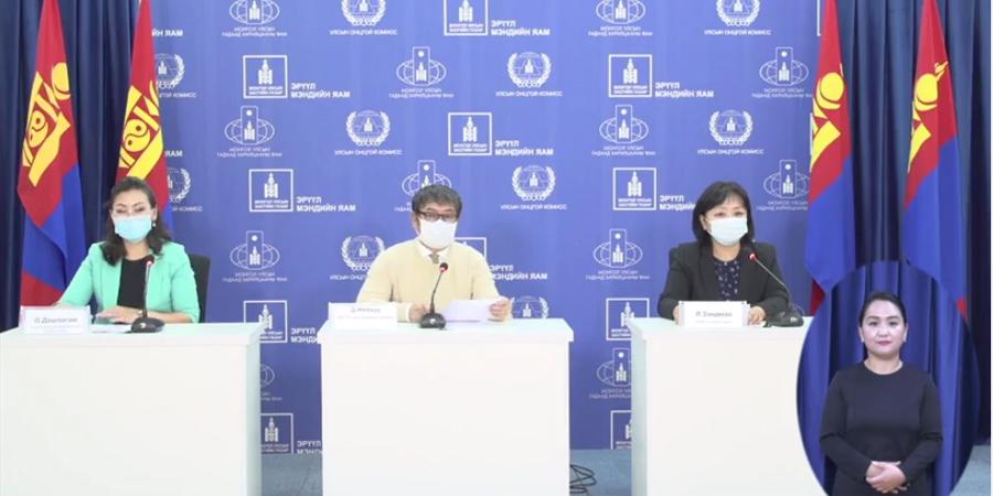 Д.Нямхүү: Нэг хүнээс коронавирус илэрлээ